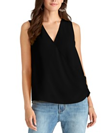 RACHEL Rachel Roy Junior's V-Neck Top
