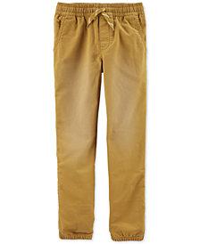 Carter's Little & Big Boys Pull-On Knit-Like Jogger Pants