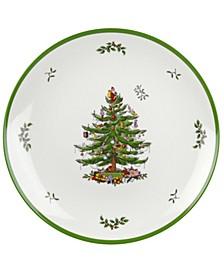 Christmas Tree Round Melamine Platter