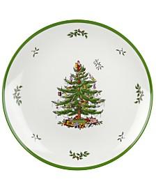 Spode Christmas Tree Round Melamine Platter