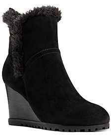 Nine West Cici Wedge Booties