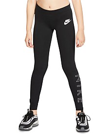 Nike Big Girls Sportswear Leggings