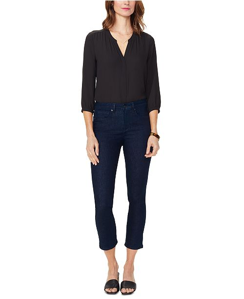 NYDJ Sheri Tummy Control Slim-Leg Ankle Jeans