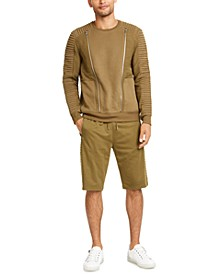 Men's Hugo Boss Sweatshirt & Drawstring Shorts