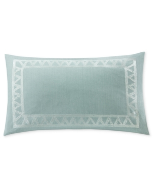 Echo Mykonos Embroidered 12 x 20 Decorative Pillow Bedding