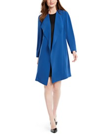 Nine West Soft Crepe Duster Jacket