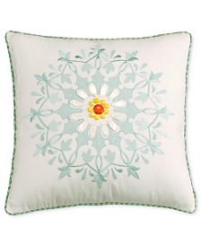 "Echo Jaipur 18"" Square Decorative Pillow"
