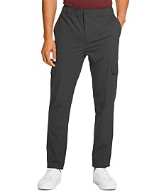 DKNY Men's Elastic Tech Cargo Pants