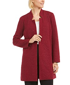 Open-Front Longline Jacket, Created for Macy's