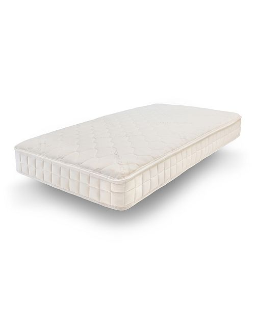 Naturepedic Organic Verse Twin Mattress, 100% Organic Certified - Safe and Healthy - Comfort without Chemicals