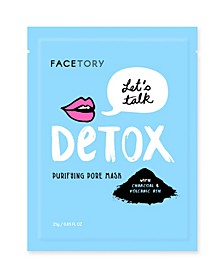 Let's Talk Detox Mask 5 Pack