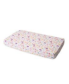 Brain Freeze Cotton Muslin Crib Sheet