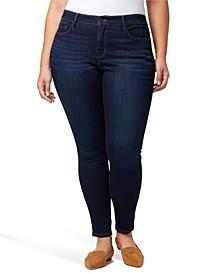 Plus Denim Social Standard Skinny Jeans