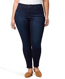 Sanctuary Plus Denim Social Standard Skinny Jeans