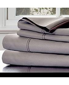 Home Cotton Rich Sateen 4 Piece Queen Sheet Set