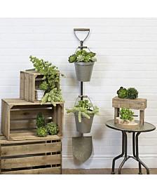 VIP Home & Garden Metal Shovel Planter