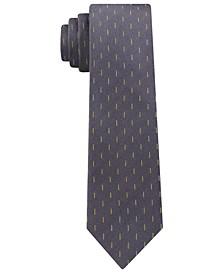 Men's Skinny Refined Dashes Tie