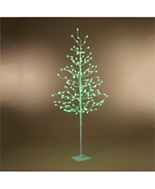 Everlasting Glow 4-Foot High Electric Tree with Crackle Ball Remote Controlled LED Lights