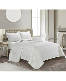 Wilshire 4-Piece Coverlet Sets
