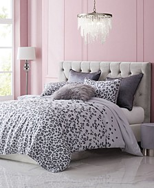 Pearl Leopard 3-Piece Queen Comforter Set