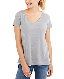 Motherhood Maternity V-Neck Nursing T-Shirt
