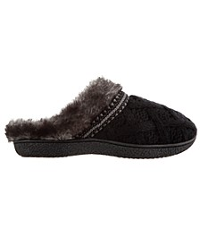 Isotoner Women's Trellis Sweater Knit Slipper, Online Only