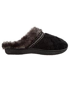 Isotoner Women's Trellis Sweater Knit Slipper, Online Only