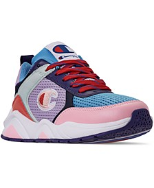 Women's 93Eighteen Color Block Casual Sneakers from Finish Line
