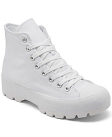Women's Chuck Taylor All Star High Top Lugged Casual Sneakers from Finish Line