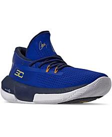 Big Boys' SC 3ZERO III Basketball Sneakers from Finish Line