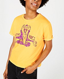 Disney Juniors' Lion King Rafiki Good Vibes T-Shirt