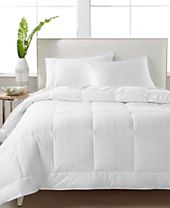 CLOSEOUT! Hotel Collection White Down 400-Thread Count Medium Weight King Comforter, Created For Macy's