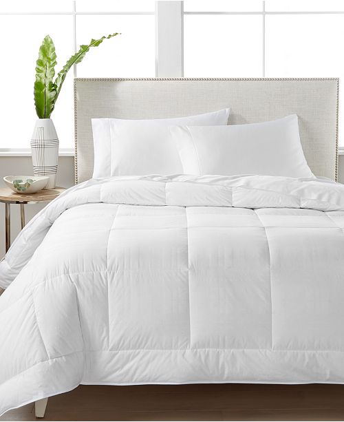 Hotel Collection CLOSEOUT! White Down 400-Thread Count Medium Weight Full/Queen Comforter, Created for Macy's