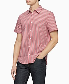 Men's Slim-Fit Stretch Stripe Shirt