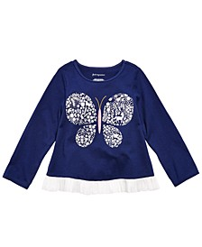 Baby Girls Cotton Butterfly T-Shirt, Created for Macy's