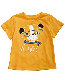 Baby Boys Dog-Print Cotton T-Shirt, Created for Macy's