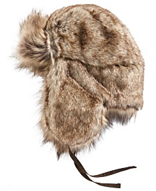 STETSON Men's Faux-Fur Trapper Hat