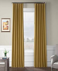 "Exclusive Fabrics Furnishings Bellino Blackout Curtain 84"" x 50"" Curtain Panel"