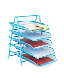 5 Tier Paper Tray Desk Organizer