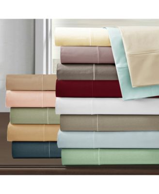 Luxury 800 Thread Count Egyptian Cotton Deep Pocket 4-Piece Sheet Set