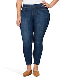 Plus Denim Uplift Pull-On Jegging