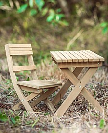 """18"""" Doll Dr. Jane Goodall Gombe Rainforest Camp Table and Chair Set"""