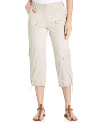 Image of Style & Co Cargo Capri Pants, Only at Macy's