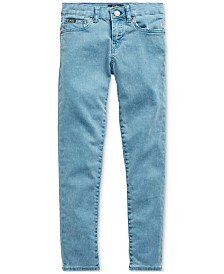 Polo Ralph Lauren Big Girls Tompkins Skinny-Fit Jeans