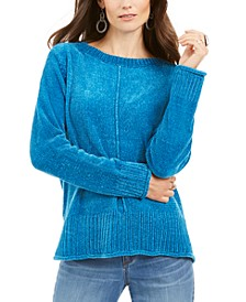 Petite Chenille Sweater, Created for Macy's