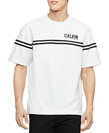 Men's Varsity Tape Crewneck T-Shirt