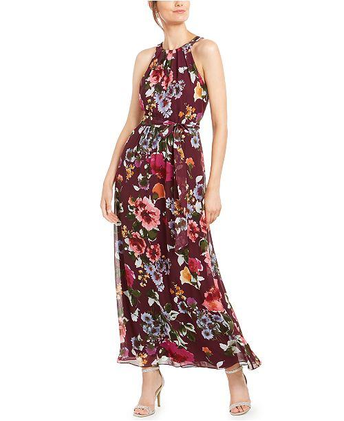 SL Fashions Halter Maxi Dress