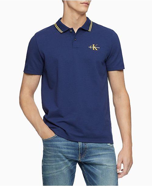Calvin Klein Jeans Men's Varsity Polo Shirt