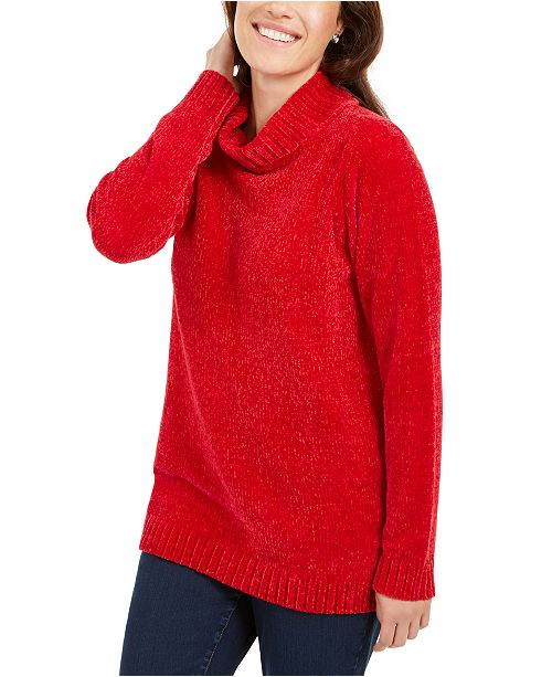 Karen Scott Chenille Sweater Collection, Created For Macy's