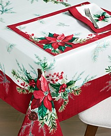 Christmas Sprig Table Linen Collection
